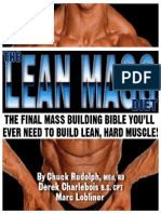 The Lean Mass Diet