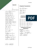 Formulas de Integracion1