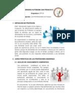 Separata - Las Profesiones Actuales 10 SEM