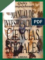 194853626 Quivy Campenhoudt Manual de Investigacion en Ciencias Sociales