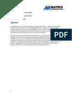 CSG Matrix IP Telephony Best Practices Guide