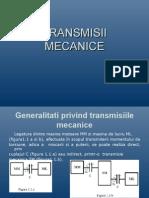 TRANSMISII MECANICE