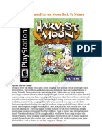 Buku Panduan Harvest Moon Back to Nature Versi Indonesia