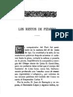 Los Restos de Pizarro