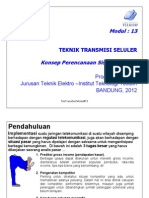 Modul-13 Teknik Transmisi Seluler
