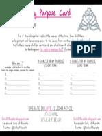 Purpose Card PDF