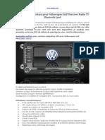 Bon Navigation Voiture Pour Volkswagen Golf Plus Avec Radio TV Bluetooth iPod