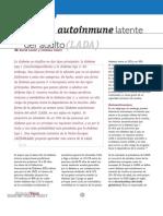 Diabetes Autoinmunelatente