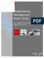 2014 Solutions Review MDM Buyers Guide MDM14