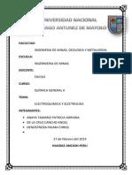 Electroquimica y Elctrolisis(1)