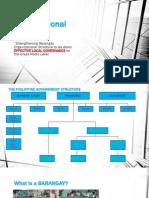 Revised Barangay Organizational Structure