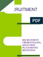 Recruitment New