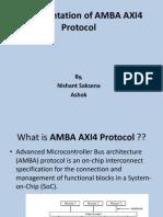 Implementation of AMBA AXI4 Protocol