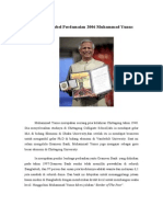 Pemenang Nobel Perdamaian 2006 Muhammad Yunus