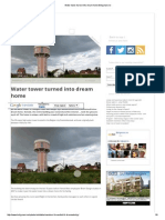 Water Tower Turned Into Dream Home Boligmani