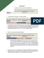 Using Settings Files