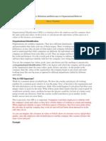 Organisation Identification 1