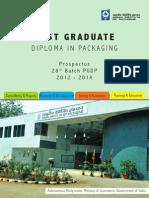 Indian Institute of Packaging Prospectus