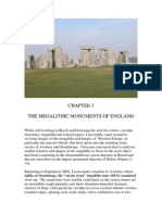 THE MEGALITHIC MONUMENTS OF ENGLAND by Frank Guardia