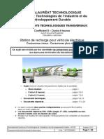 BAC STI2D Enseignements Technologiques Transversaux 2013