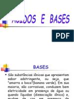 ÁCIDOS E BASES 2009