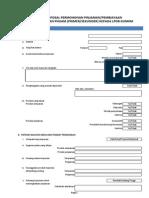 Form pengajuan LPDB