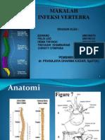 Infeksi Vertebra Dept Ilmu Bedah Orthopaedi Dan Traumatologi