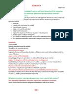 ELEMENT 6 - Principles of Control Notes