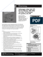 VW Golf 2003 Service Manual