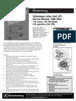 VW Golf 2003 Service Manual