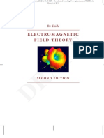 electromagnetic field theory with electronamics