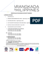 Legislative Priorities - June 2014 - 16th Congress