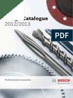 Bosch - Catalog Accesorii Profesionale 2012-2013