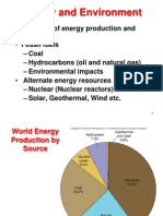 Lecture Week 14 Energy Environment Updated