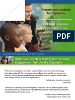Presenter Ppt Intro - Tools for Engaging All Learners in the Clas