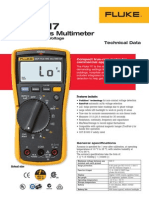 Fluke 117 Multimeter Technical Data.pdf