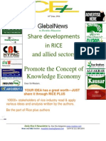 16th June,2014 Daily Global Rice E-Newsletter by Riceplus Magazine