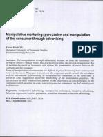 Manipulative Marketing
