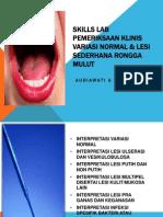 Materi Skills Lab Di Dental Unit