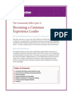 Becoming a Customer Experienci Leader