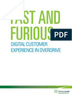 Digital Customer Experience in Overdrive