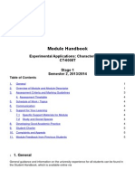 CT 6008TModule Handbook Template 13_14