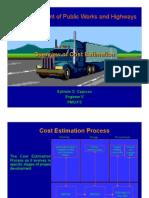 DPWH - Cost Estimation