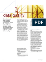 CAD Data Quality for Product Life Cycle Development