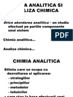 7. Notiuni de Analiza Chimica
