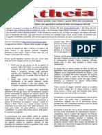 Notiziario Atheia Anno 1 Numero 1 Gennaio 2010 dc