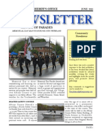 Albany County Sheriff June Newsletter