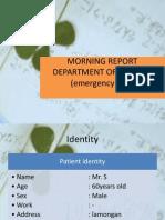 Morning Report Department of Interna 2-11-2013