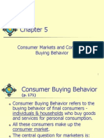 05 -Consumer Markets and Consumer Buying Behaviour