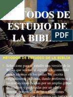 2. Métodos de Estudio de La Biblia